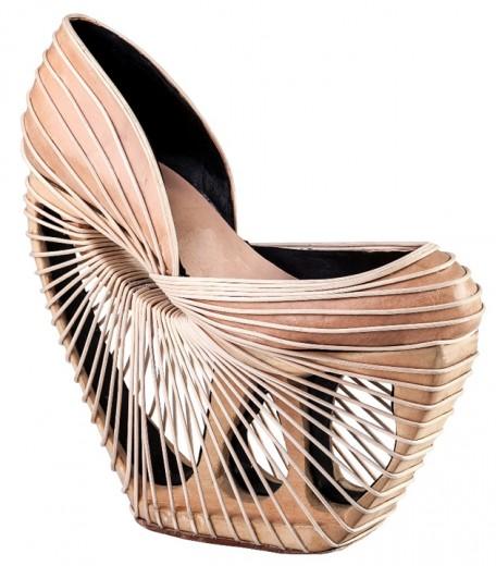 Indicados na categoria de Melhor Calçado Feminino: Breno Cintra Pugliesi (de Franca, SP)