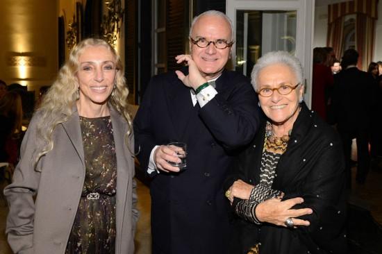 Franca Sozzani, Manolo Blahnik e Rosita Missoni no IHT Luxury - veja quem foi!