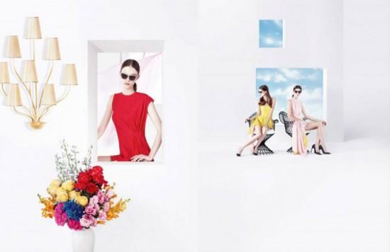 A 1ª campanha de Raf Simons pra Dior... vem ver!