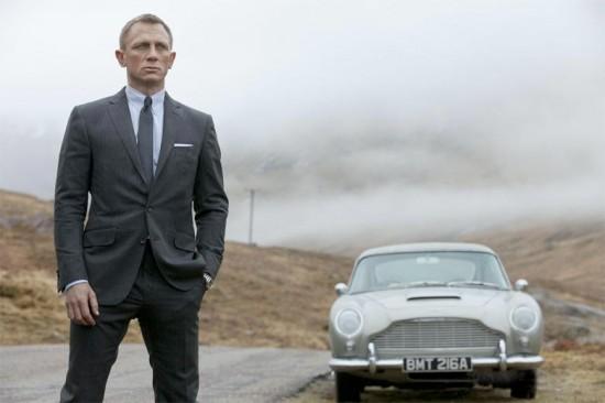 """""""007 - Operação Skyfall"""" com a alfaiataria impecável do espião mais famoso do mundo"""