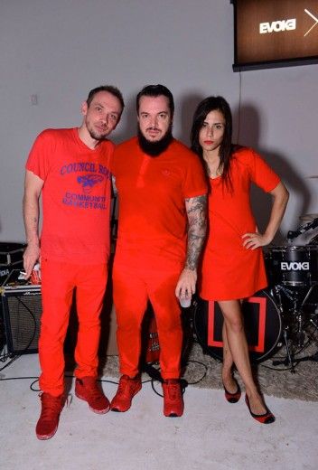 Mixhell: Max Blum, Igor Cavalera e Laima Leyton