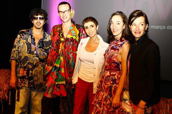 Ricardo de Castro, Dudu Bertholini, Lilian, Pamela Golbin e Cynthia Rowley discutem arte e moda no Move!