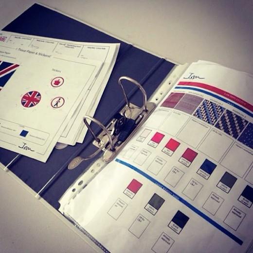 Issa London para C&A: o preview da cartela de cores