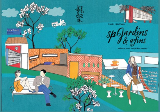 Essa é a capa do livro, com ilustração de Graziela Mattar