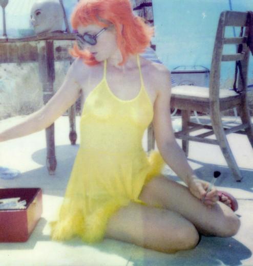 Stefanie Schneider, a fotógrafa que só usa Polaroid!