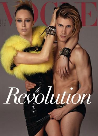 """Raquel Zimmermann é uma das tops da """"Vogue"""" Itália de julho. E também tem Gisele Bündchen, Linda Evangelista, Stella Tennant e mais!"""