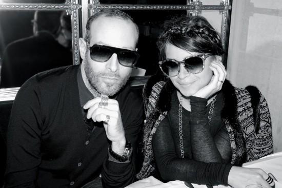 Miroslava Duma cria modelo de óculos pro Thierry Lasry