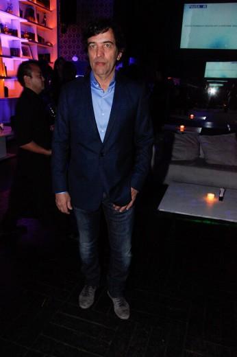 A festa teve como anfitrião o estilista Ricardo Almeida