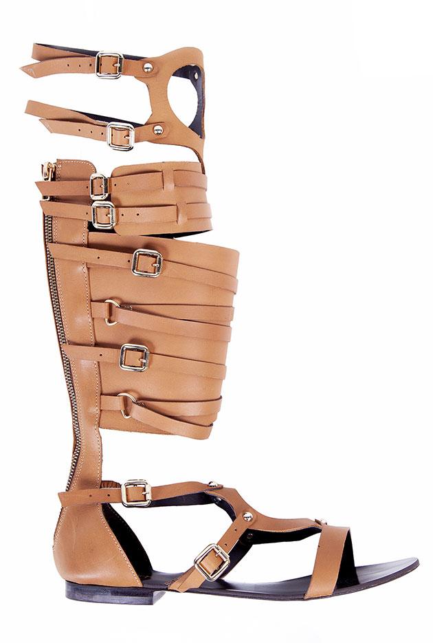 2f20c82bb4 Pro verão  gladiadora até os joelhos! - Lilian Pacce