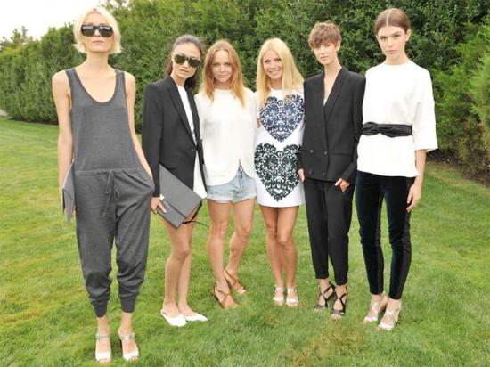 Stella McCartney e Gwyneth Paltrow entre as modelos que usam as peças da coleção cápsula feita pro site Goop