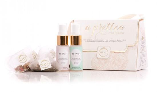 A MIYU promete trazer a nova fórmula da beleza com seus chás!