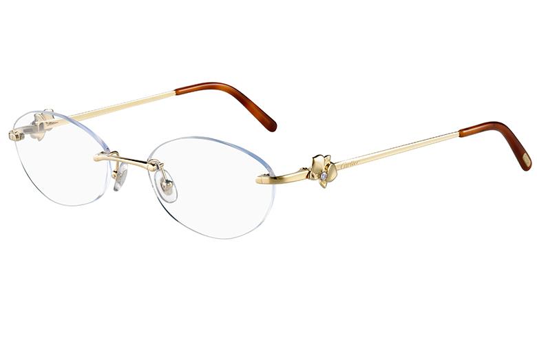 4ab7ce57b0c Cartier traz óculos de alta-joalheria pro Brasil