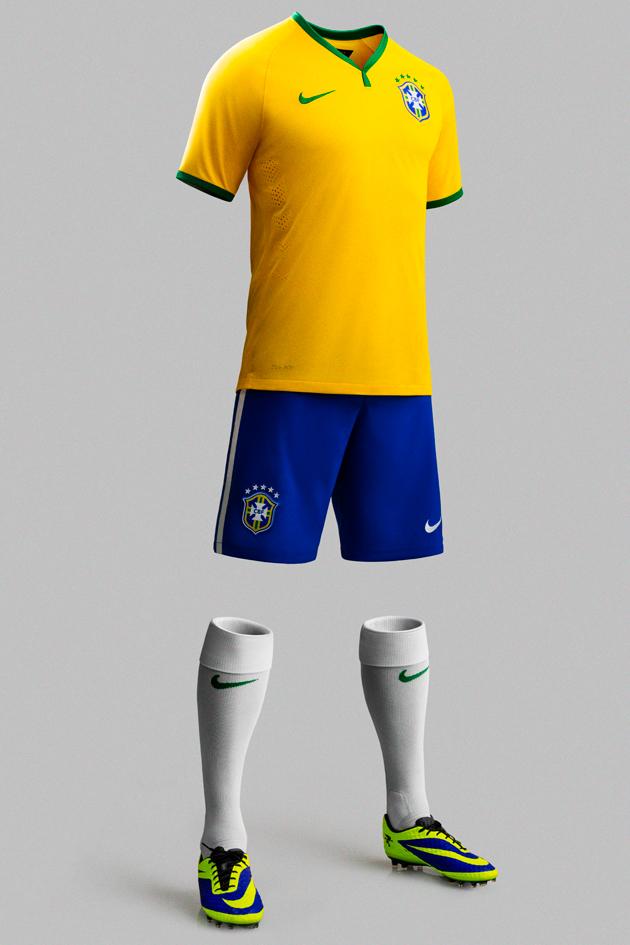 fc6cd48f2f Designer da Nike explica o uniforme da seleção brasileira