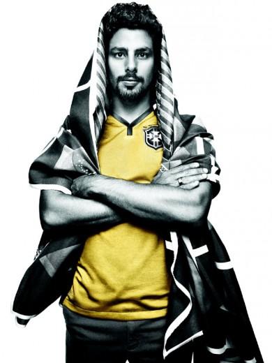 20bb5f099c Famosos vestem camisa da seleção na campanha da Nike! - Lilian Pacce
