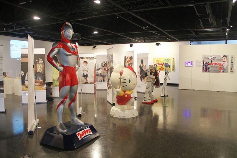 Personagens icônicos japoneses em exposição! 4f3f90eb622