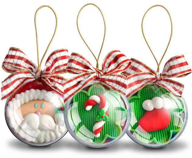 Bolas de natal da decora o aos chocolates - Bolas para decorar ...