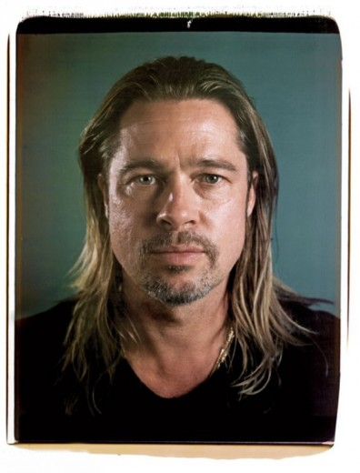 "Brad Pitt pra Chuck Close na ""Vanity Fair"""