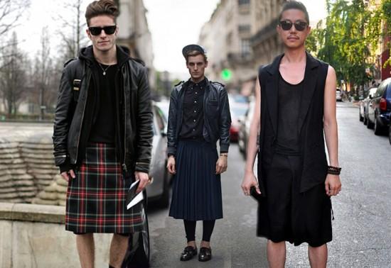 Quer ver algumas inspirações de saias masculinas? Clica na foto pra acessar a galeria!
