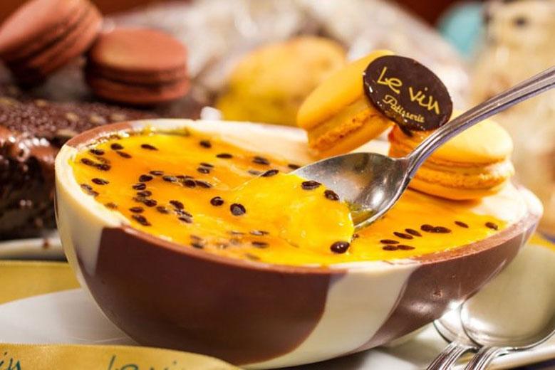 Image result for ovo de pascoa de colher maracuja