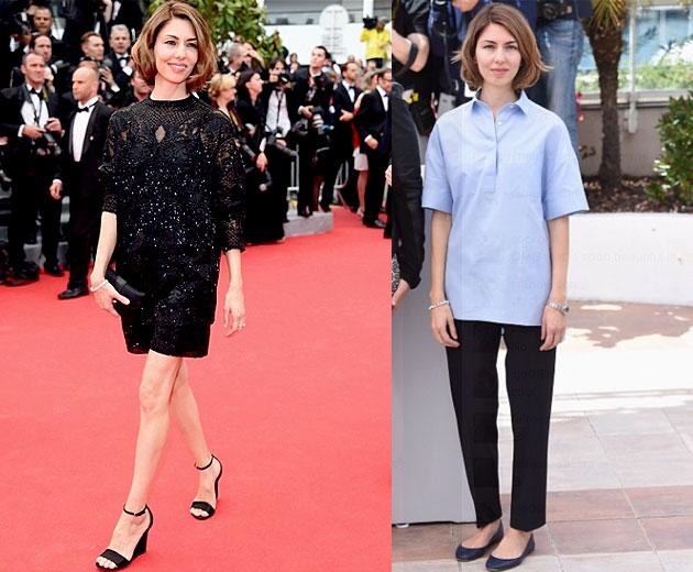Versace No Tapete Vermelho : Sofia Coppola de Valentino no tapete vermelho e no photocall