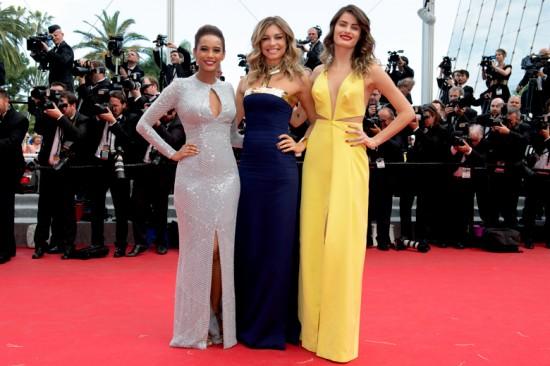 Taís Araújo, Grazi Massafera e Isabeli Fontana em Cannes. Vem ver mais!