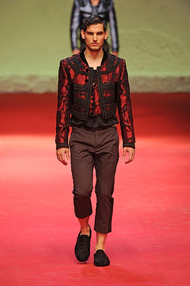 Dolce   Gabbana (masc) primavera-verão 2015 d852df9cead
