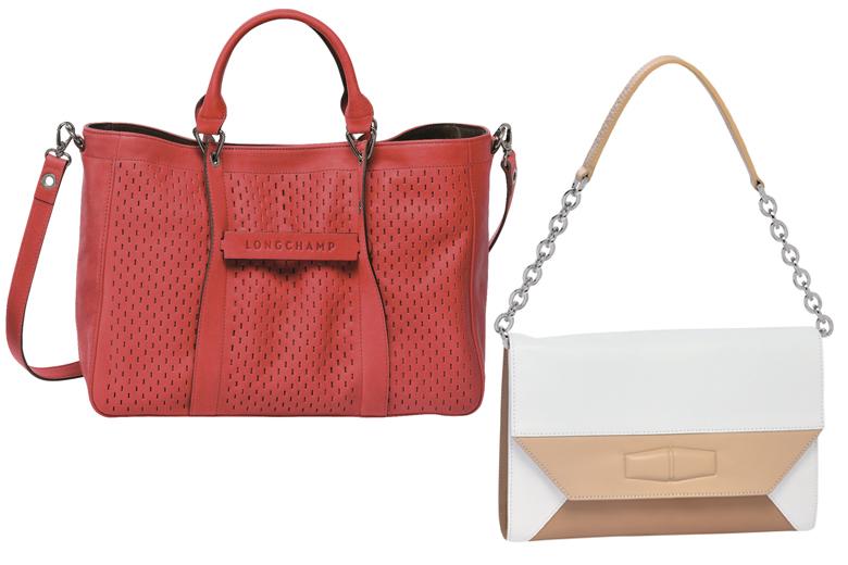 Bolsa Longchamp Branca : Invista nas bolsas em liquida??o lilian pacce