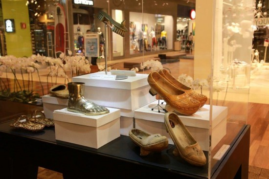 A trajetória do sapato no Morumbi Shopping!