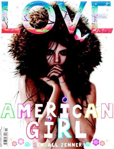 Aí está: a outra capa de Kendall Jenner!