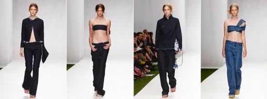 Marques' Almeida: foco no jeans!