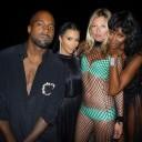 """Kanye West, Kim Kardashian, Kate Moss e Naomi Campbell. A legenda no Instagram? """"Você não pode sentar com a gente"""""""