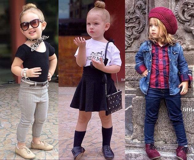 Resultado de imagem para crianças estilosas