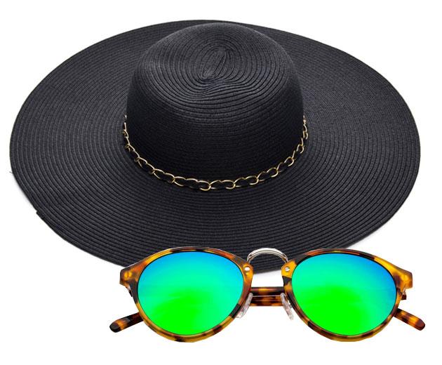 Blog LP ensina como combinar óculos de sol e chapéu 7d02d59fed5