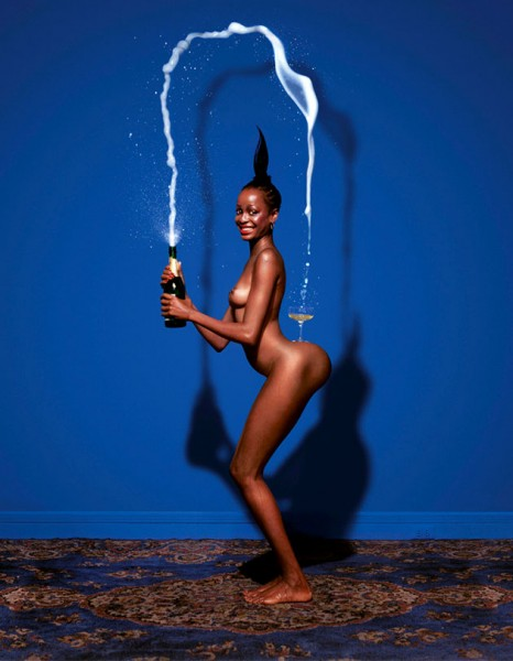 121114-jean-paul-goude-champagne-incident