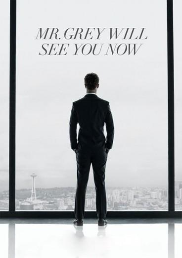 50 tons de cinza estréia dia 12/02 e a gente separou 50 looks nessa cor: a começar por esse pôster do filme, com o famoso Sr. Grey