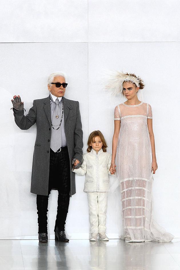 Karl Lagerfeld vai lançar linha infantil