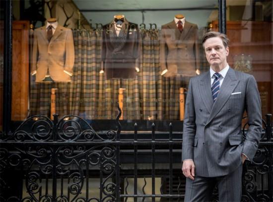 """""""Kingsman: Serviço Secreto"""" traz Colin Firth com o look da hora: jaquetão!"""