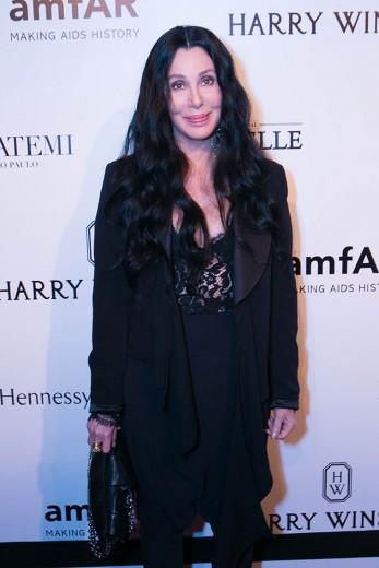 Cher na 5º edição brasileira do amfAR!