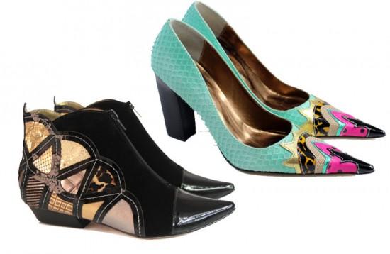 Os sapatos superartesanais da Louloux... Bota Vitraux (R$ 249) e sapato Obvious (R$ 198) - clica pra ver mais!