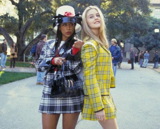 Liquidação de xadrez no melhor estilo Cher e Dione - vem ver!