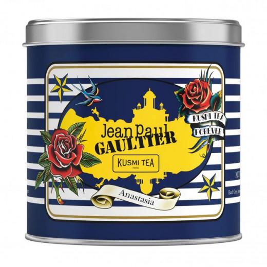 Vem ver a colaboração do estilista Jean Paul Gaultier com a marca de chá Kusmi Tea!
