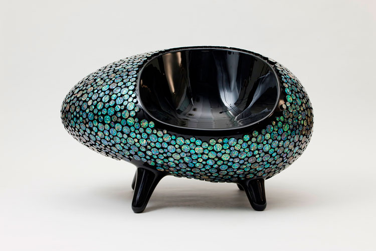"""A poltrona """"Octopus"""" feita pelo designer Lee Sam Woong em 2011"""