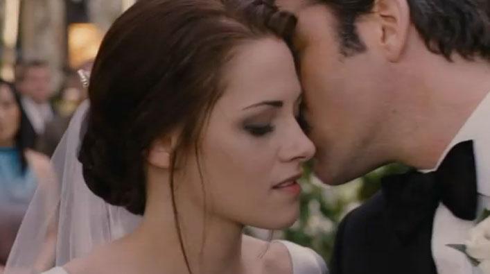 O vestido de casamento de Bella é by Carolina Herrera