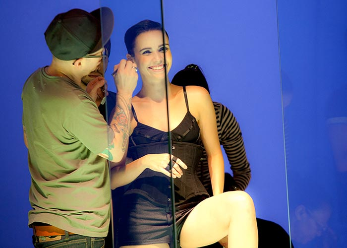 Making of campanha Arezzo outono-inverno 2012
