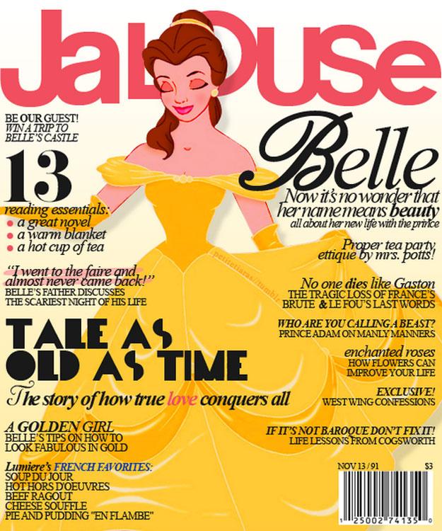 """""""Jalouse. Bela: não é a toa que seu nome significa beleza. Tudo sobre sua vida nova com o príncipe"""""""
