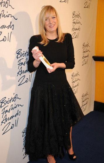 Sarah Burton, a estilista do ano