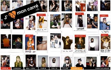 312989ec1de Maneiras de amarrar um lenço... by Hermès! - Lilian Pacce
