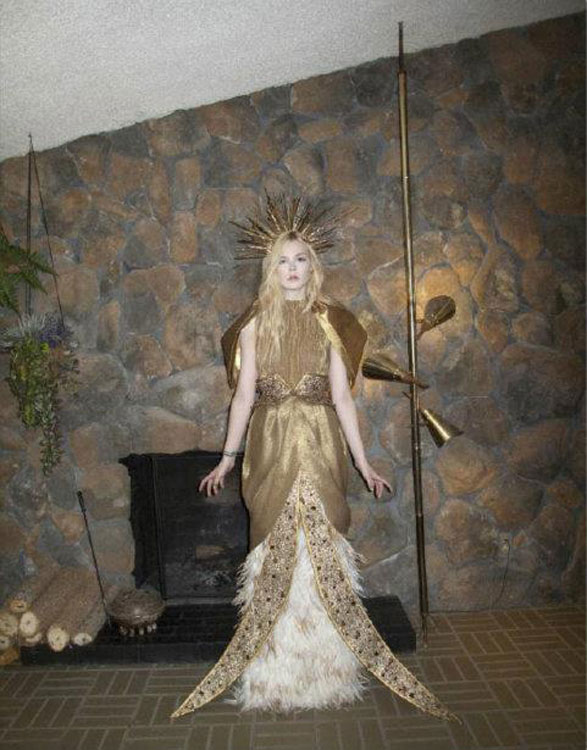 Qual a inspiração? Estátua da Liberdade? Lady Gaga? ou ainda Jesus Cristo?