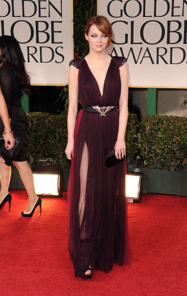 Emma Stone de Lanvin