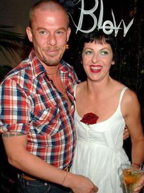 Alexander McQueen e Isabella Blow